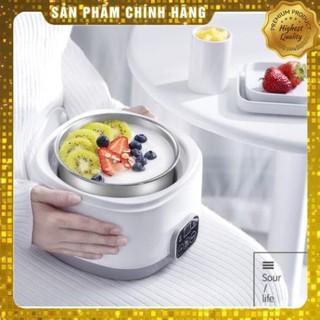 Máy làm sữa chua tự động Y-SA12, làm kem, sử dụng khay inox 304