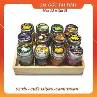 [Hàng chính hãng] Dầu cù là trái cây Aroma Balm Massage Thái Lan 15gr (Mix mùi ngẫu nhiên)