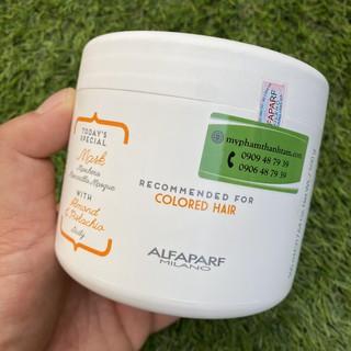 Mặt nạ dưỡng cho tóc nhuộm Alfaparf Milano Precious Nature Almond & Pistachio Mask 500ml ( Colored Hair ) thumbnail