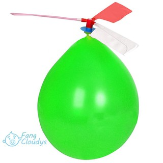 ❤❤❤Balloon Airplane Kids Educational Toys DIY Outdoor Balloon Helicopter