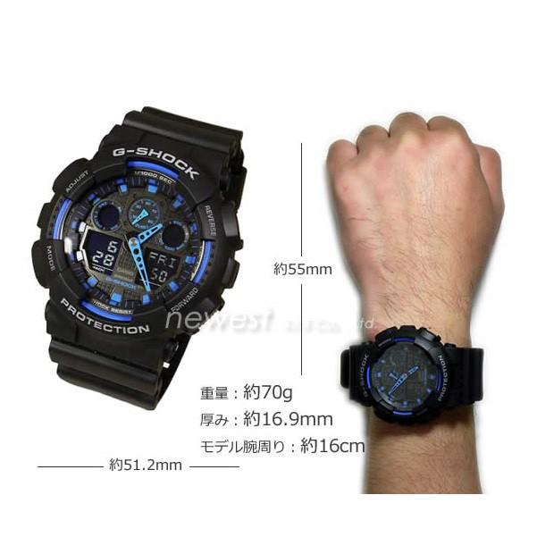 Đồng hồ nam dây nhựa G-SHOCK Casio chính hãng Anh Khuê GA-100-1A2DR