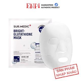 [5 miếng] Mặt nạ dưỡng trắng Sur Medic Bright Glutathione Mask