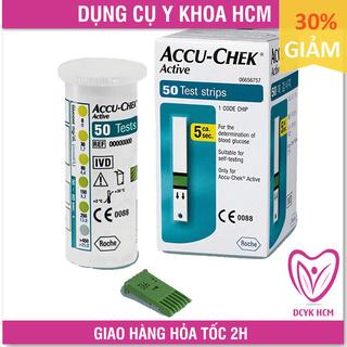 ⚡Now+Grab⚡  [50 QUE] Que Thử Đường Huyết: Accu Chek Active (AccuChek - Accu-Chek) Date Xa - GK0056