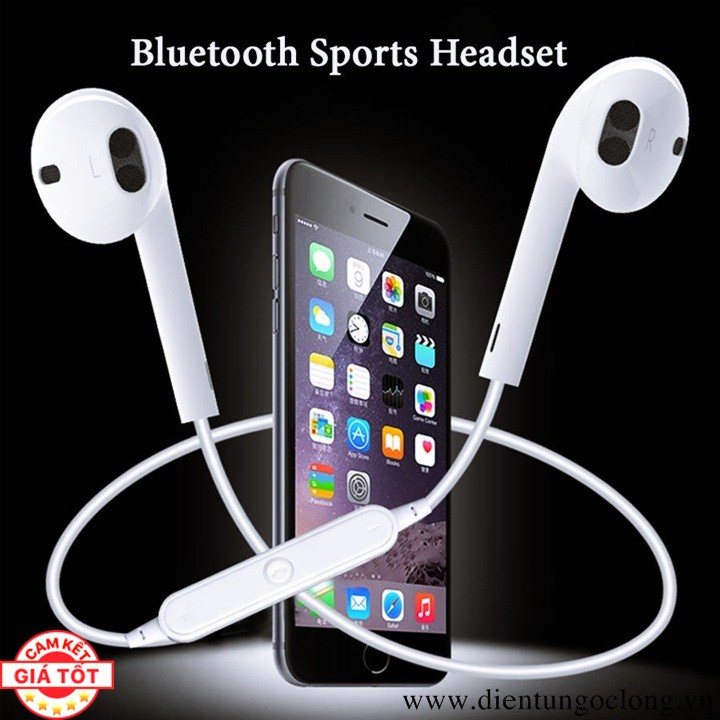 Tai Nghe Earpod Bluetooth Sports Headset
