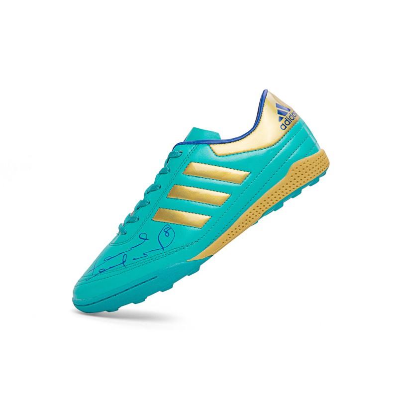 Adidas ผู้ใหญ่ / เด็ก ร้อยเล็บ รองเท้าฟุตซอล - สนามหญ้า / ห้อง หญ้าเล็บ Soccer Football Boots