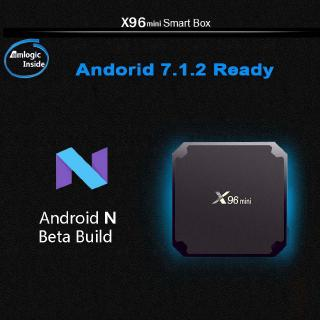 Tv Box X96 Mini Android 7.1 2gb 16gb Amlogic S905W Lõi Tứ 2.4ghz Wifi Android 9.0 1gb8gb Và Phụ Kiện