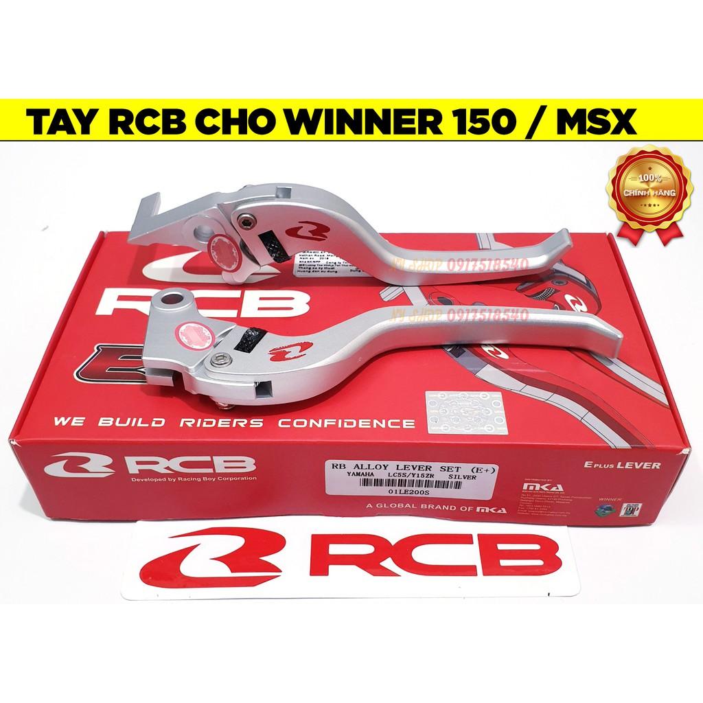 Tay thắng RCB  cho SH Việt ,EX 135,EX 150, SH, NVX, WINNER, WINNER X ,MSX, AIRBLADE, VISION (FULL BOX CHÍNH HÃNG RCB)