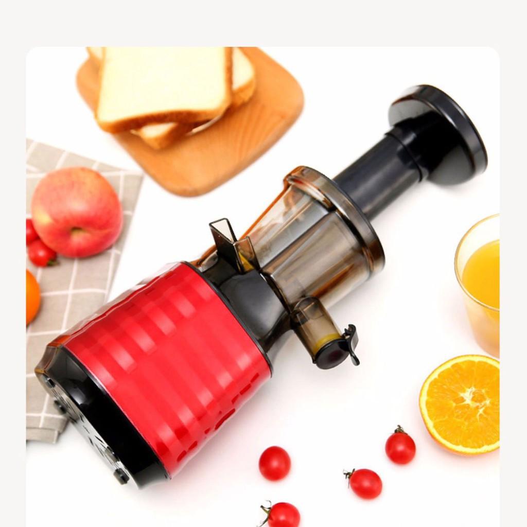 Máy ép chậm hoa quả CÁT Á & MEETJUICE, ép rau củ hoa quả, máy ép chậm VẮT KIỆT bã- BẢO HÀNH 1 NĂM, Tặng kèm 2 cốc đựng!
