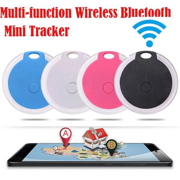 Smart Mini Bluetooth GPS Tracker for Pet Dog Cat Keys Wallet Bag Kids Giá chỉ 100.000₫