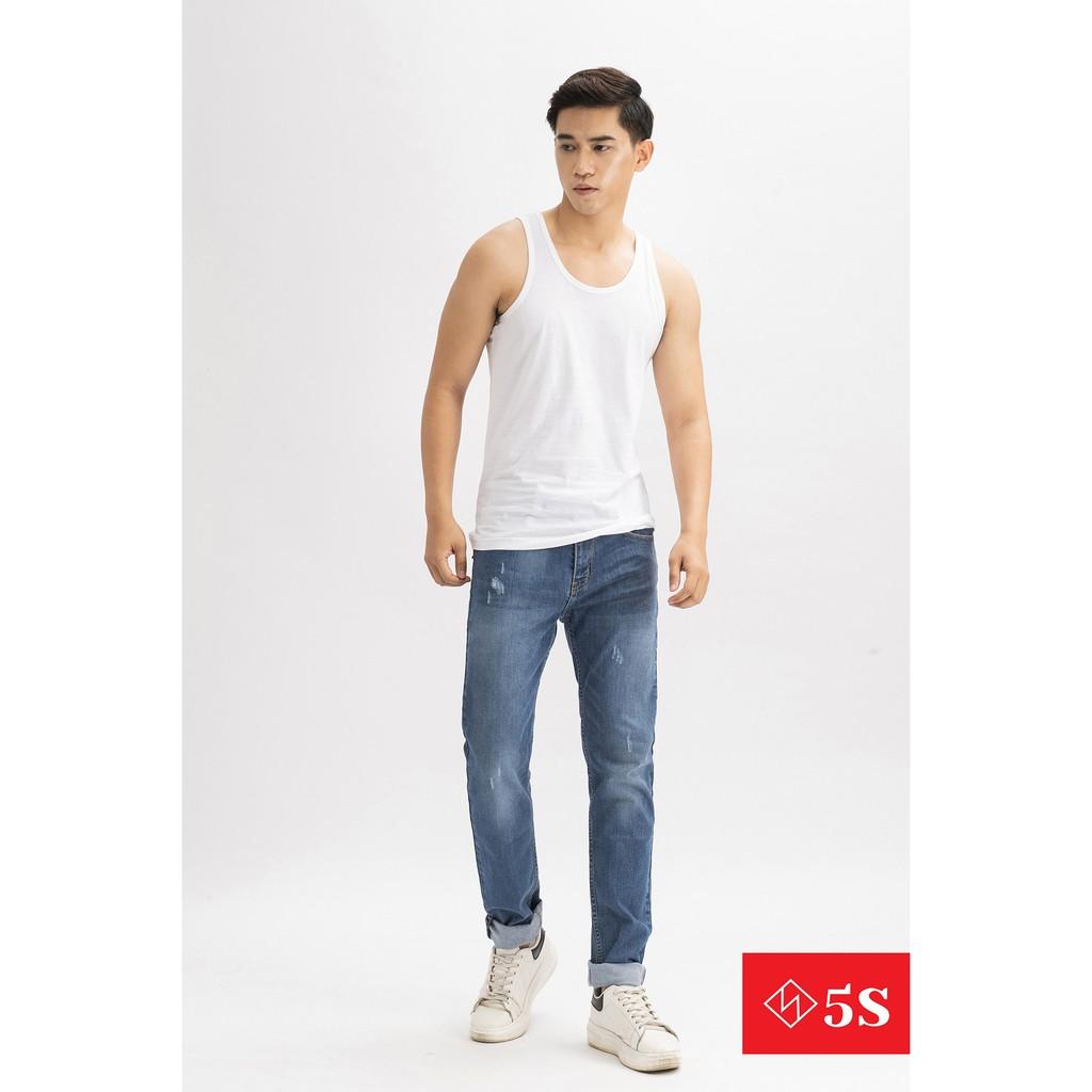 Áo Ba Lỗ Nam 5S Mặc Lót Trong, 100% Cotton Cao Cấp, Mẫu Mới 2020