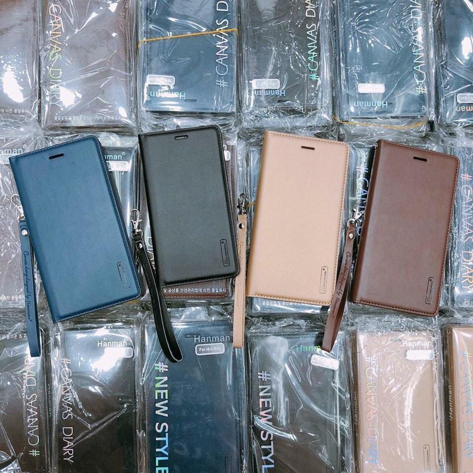 COMBO Bao da Hanman+ Miếng dán màn cường lực các số Iphone