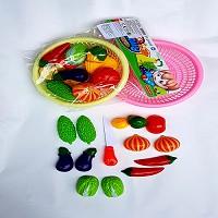 [DUY NHẤT SHOPEE] Bộ đồ chơi cắt hoa quả