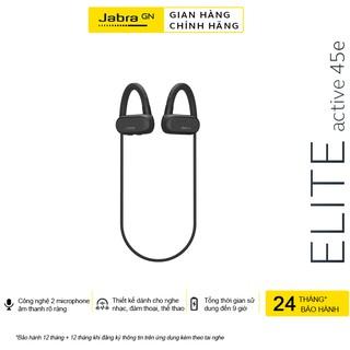 Tai Nghe Không Dây, Bluetooth Nhét Tai Jabra Elite Active 45e - Hàng Chính Hãng
