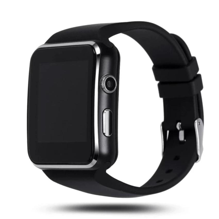 Đồng hồ thông minh X6 Màn hình Cong (Đen) - 3610641 , 988437067 , 322_988437067 , 249900 , Dong-ho-thong-minh-X6-Man-hinh-Cong-Den-322_988437067 , shopee.vn , Đồng hồ thông minh X6 Màn hình Cong (Đen)