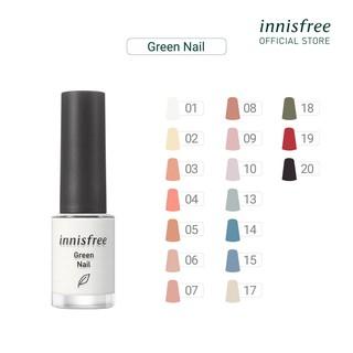 Sơn móng tay innisfree Green Nail 6ml