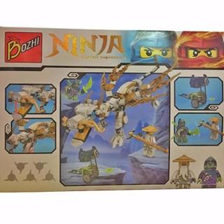 Bộ đồ chơi ghép hình Bozhi – NINJA 345 miếng ghép cho bé