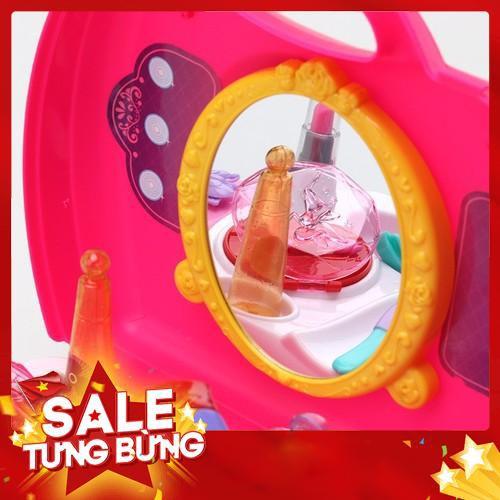 Bộ đồ chơi Vali trang điểm dễ thương cho bé, dễ dàng mang theo mọi lúc mọi nơi -Hàng nhập khẩu