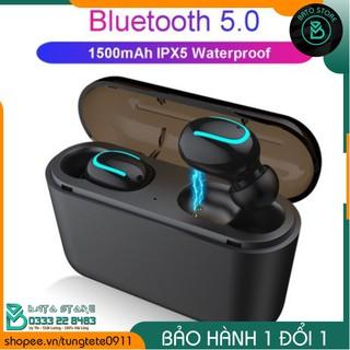 CAO CẤP - Tai Nghe Bluetooth Không Dây True Wireless Q32 TWS - Chống Nước IPX5 - Tự Động Kết Nối