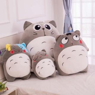 Gấu bông , gối ôm totoro chất liệu vải nhung Hàn Quốc cao cấp thumbnail