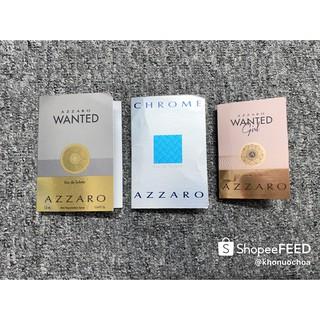 Mẫu thử nước hoa nam nữ Azzaro chính hãng thumbnail