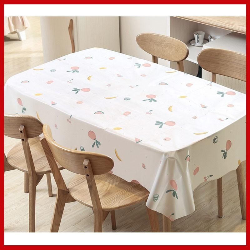 [ĐẸP XỊN] Khăn trải bàn ăn chống thấm phong cách Hàn Quốc