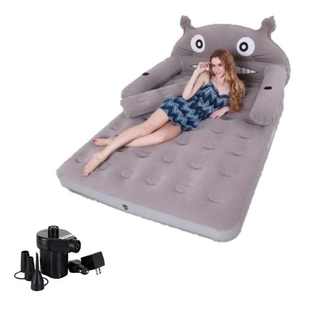 Bộ giường hơi cao cấp hình thú BQ tặng kèm bơm điện
