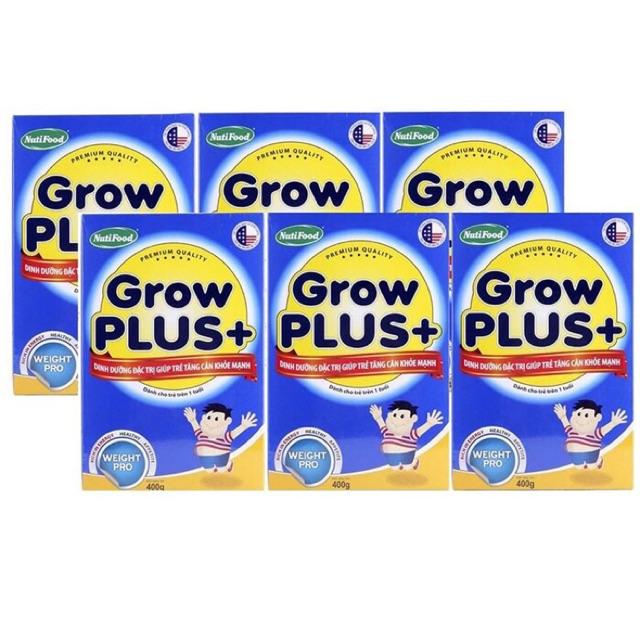 Combo 6 Nuti Grow Plus xanh 400g (Hộp giấy) - 2584129 , 260567852 , 322_260567852 , 439000 , Combo-6-Nuti-Grow-Plus-xanh-400g-Hop-giay-322_260567852 , shopee.vn , Combo 6 Nuti Grow Plus xanh 400g (Hộp giấy)