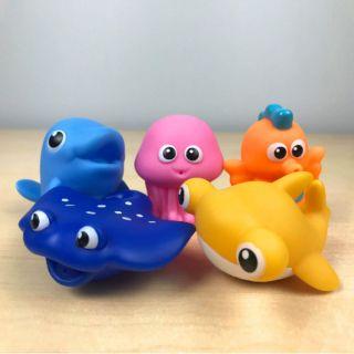Bộ đồ chơi sinh vật biển 5 món