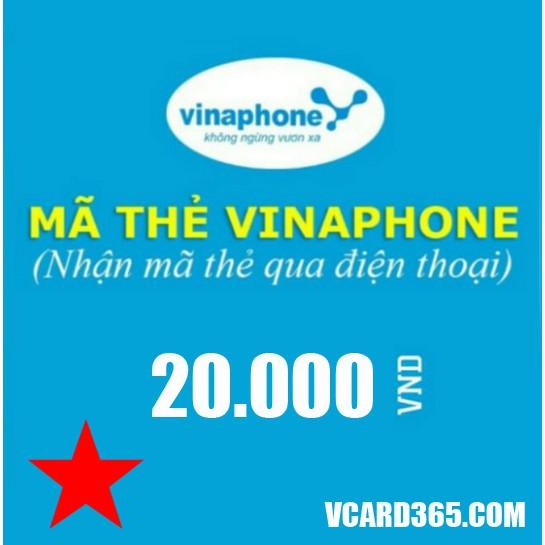 Thẻ điện thoại Vinaphone 20k (Mã thẻ cào Vina 20000, Thẻ vina 20) - 3108802 , 742743604 , 322_742743604 , 20000 , The-dien-thoai-Vinaphone-20k-Ma-the-cao-Vina-20000-The-vina-20-322_742743604 , shopee.vn , Thẻ điện thoại Vinaphone 20k (Mã thẻ cào Vina 20000, Thẻ vina 20)