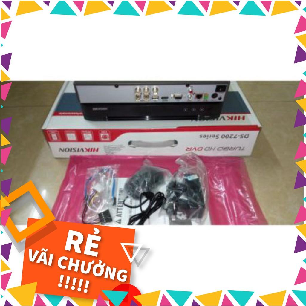 Đầu ghi hình 8 kênh Turbo HD 4.0 Hikvision DS-7208HQHI-K1 - Hàng chính hãng 100% - C