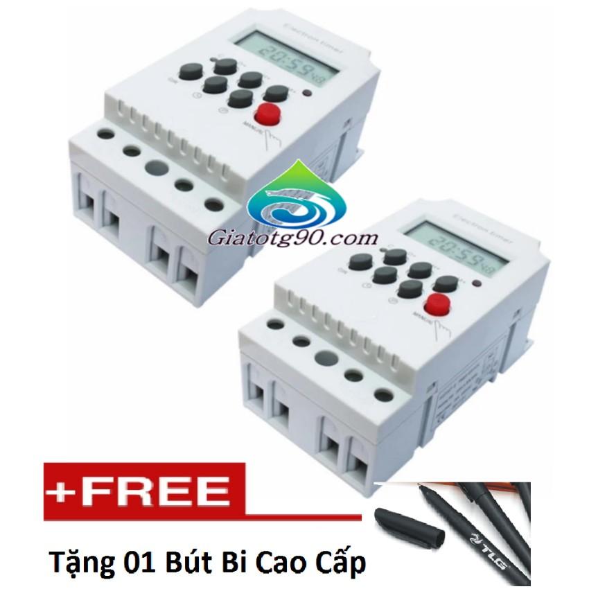 Bộ 2 Công tắc hẹn giờ kỹ thuật số 17 chương trình KG316T-II tặng 01 bút bi cao cấp - 3067009 , 560644284 , 322_560644284 , 813000 , Bo-2-Cong-tac-hen-gio-ky-thuat-so-17-chuong-trinh-KG316T-II-tang-01-but-bi-cao-cap-322_560644284 , shopee.vn , Bộ 2 Công tắc hẹn giờ kỹ thuật số 17 chương trình KG316T-II tặng 01 bút bi cao cấp