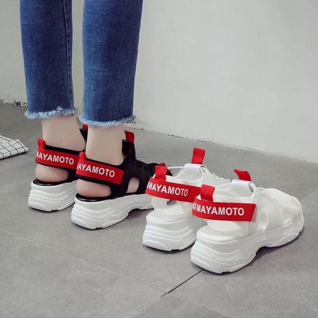 Giày tt hở mũi vạch đỏ - 3303092 , 1255548540 , 322_1255548540 , 291800 , Giay-tt-ho-mui-vach-do-322_1255548540 , shopee.vn , Giày tt hở mũi vạch đỏ