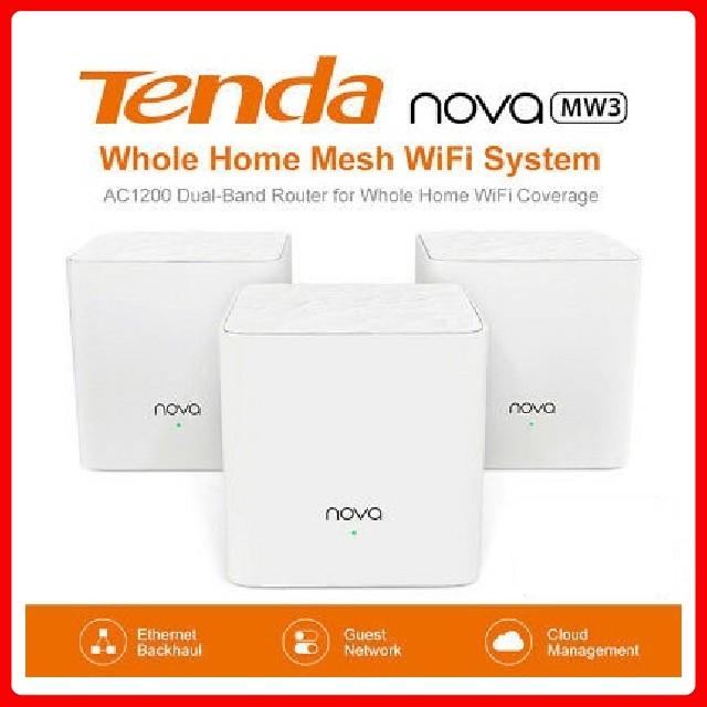 Bộ Wifi Mesh không dây Tenda Nova MW3 ( 2 pack) chính hãng - BH36Tháng
