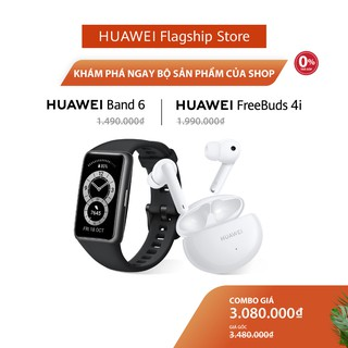 Bộ Sản Phẩm Huawei (Band 6 + FreeBuds 4i)