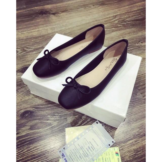 Giày bệt nữ nơ xiêu xinh sắn, giày mọi nữ, sục nữ xinh