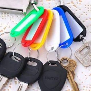Thẻ đánh dấu ghi nhớ chìa khóa, vali thumbnail