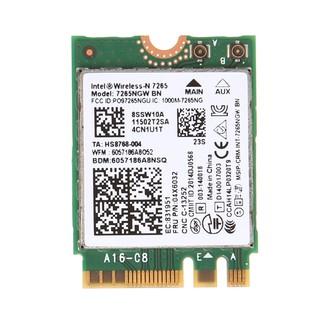 Thẻ Wifi Không Dây Intel Wireless-N 7265 7265ngw Bn Dual Band 2x2 Wi-Fi Bluetooth 4.0 thumbnail