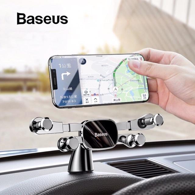 Bố đế giữ điện thoại trên ô tô Baseus Horizontal Screen Gravity Holder