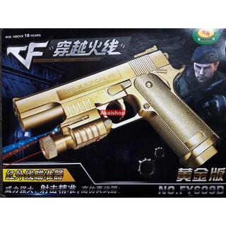 Đồ chơi điện tử M1911BB bản vàng kim LNBB01-VK
