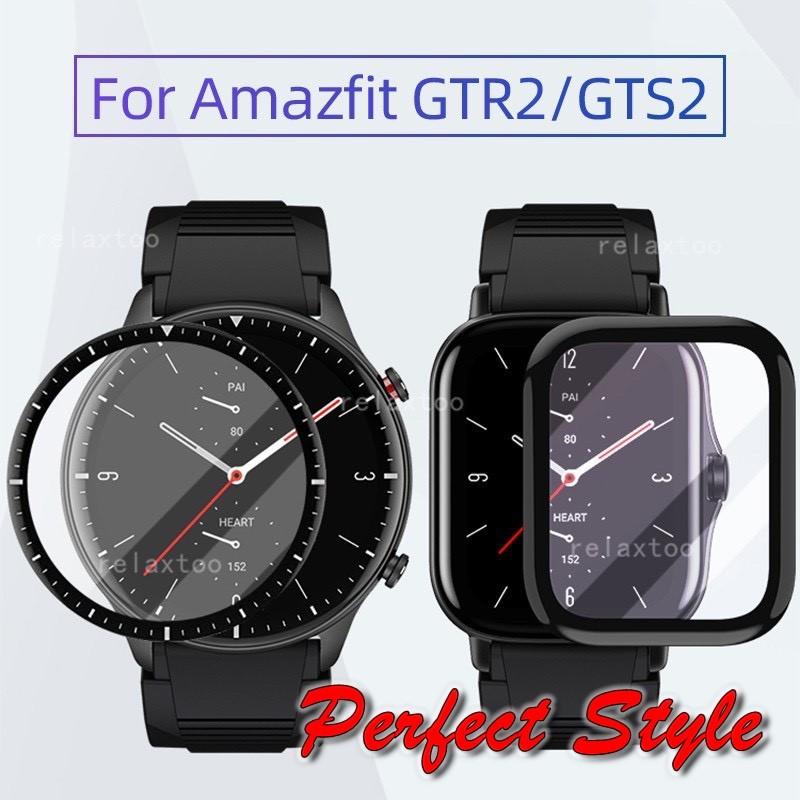 Cường lực màn hình 3D Cạnh Cong Full mặt kính cho Amazfit GTR 2 GTS2 GTR 2e