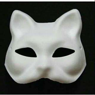 Mặt nạ cáo – mặt nạ mèo – fox mask (cả mặt, nửa mặt) shopee. vn|mochi04