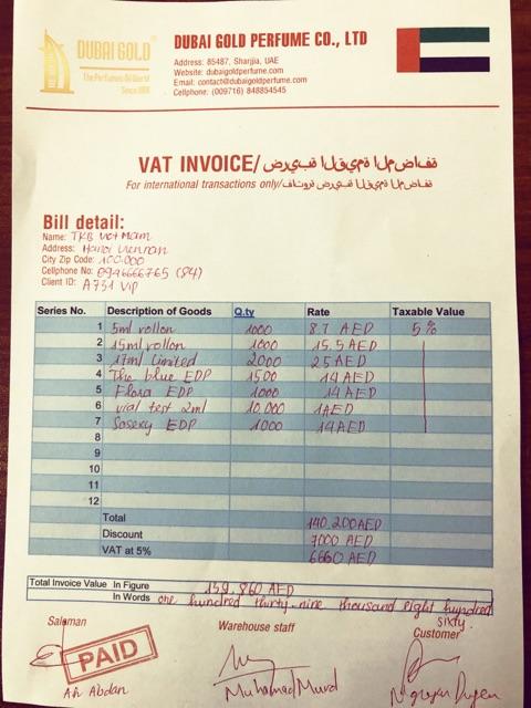 Tinh dầu nước hoa Dubai sỉ lẻ (chai 15ml và chai 5ml) | tinh dầu dubai