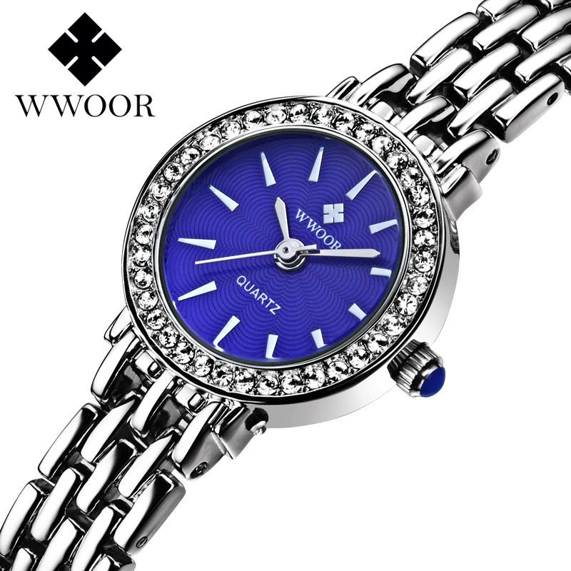 Đồng hồ Nữ WWOOR 810 - Chính hãng nhỏ xinh sang trọng + Tặng Hộp cao cấp & Pin