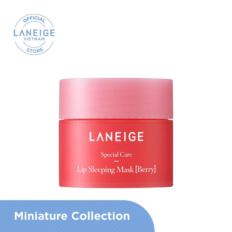 Mặt nạ ngủ cho môi Laneige Lip Sleeping Mask Berry 8g - Miniature