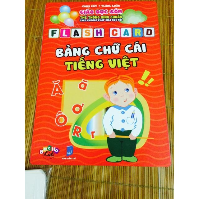 Thẻ chữ cái tiếng việt - 2496896 , 200066157 , 322_200066157 , 68000 , The-chu-cai-tieng-viet-322_200066157 , shopee.vn , Thẻ chữ cái tiếng việt