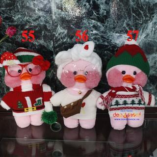 Quà tặng 8-3 thú bông vịt lalafanfan màu hồng có phụ kiện