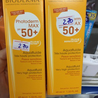 Kem chống nắng derma Photoderm Max SPF 50+ 40ml của Pháp - 3486223 , 1099122313 , 322_1099122313 , 498000 , Kem-chong-nang-derma-Photoderm-Max-SPF-50-40ml-cua-Phap-322_1099122313 , shopee.vn , Kem chống nắng derma Photoderm Max SPF 50+ 40ml của Pháp