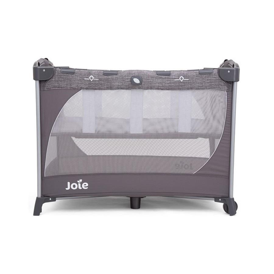 Giường cũi cho bé Joie Commuter Change & Snooze Linen Gray