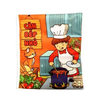 Sách vải chủ đề căn bếp nhỏ