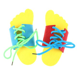 SPH unfailing aiment learn to lace tie shoes practice lacing learning shoe jolie